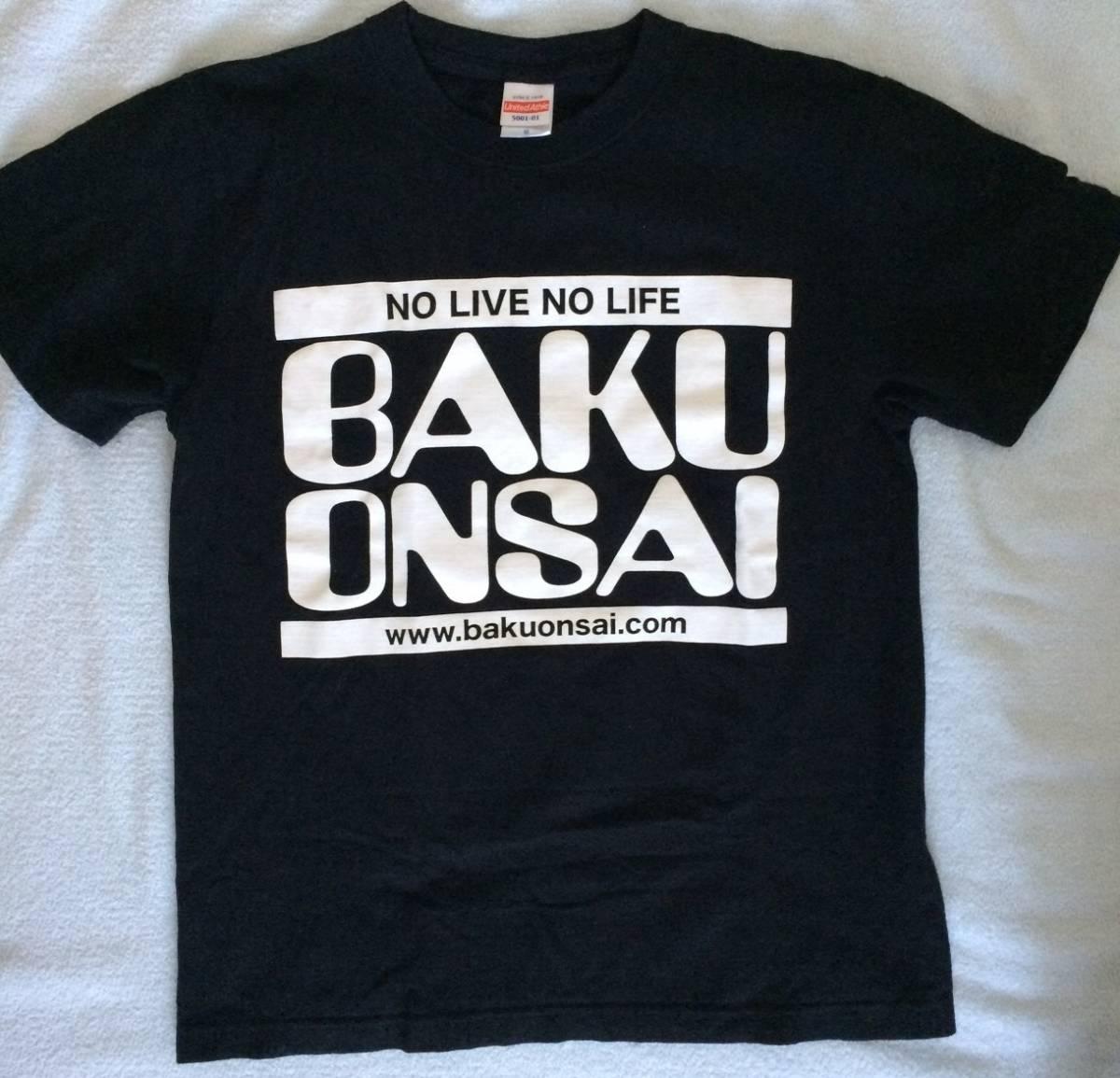 送料コミ!SORAMIMI 爆女祭Tシャツ Sサイズ BAKUONSAI YAKA たむたむ、ジュナ UNI むらたたむ 伝説のガールズバンド!_画像1