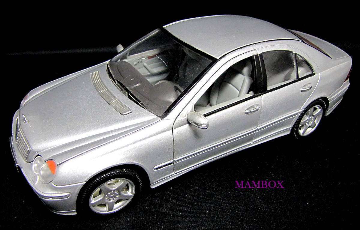 【フリマ】WE☆1/18 9853 メルセデスベンツ Mercedes-Benz C-Class 外箱・ケース無し_画像1