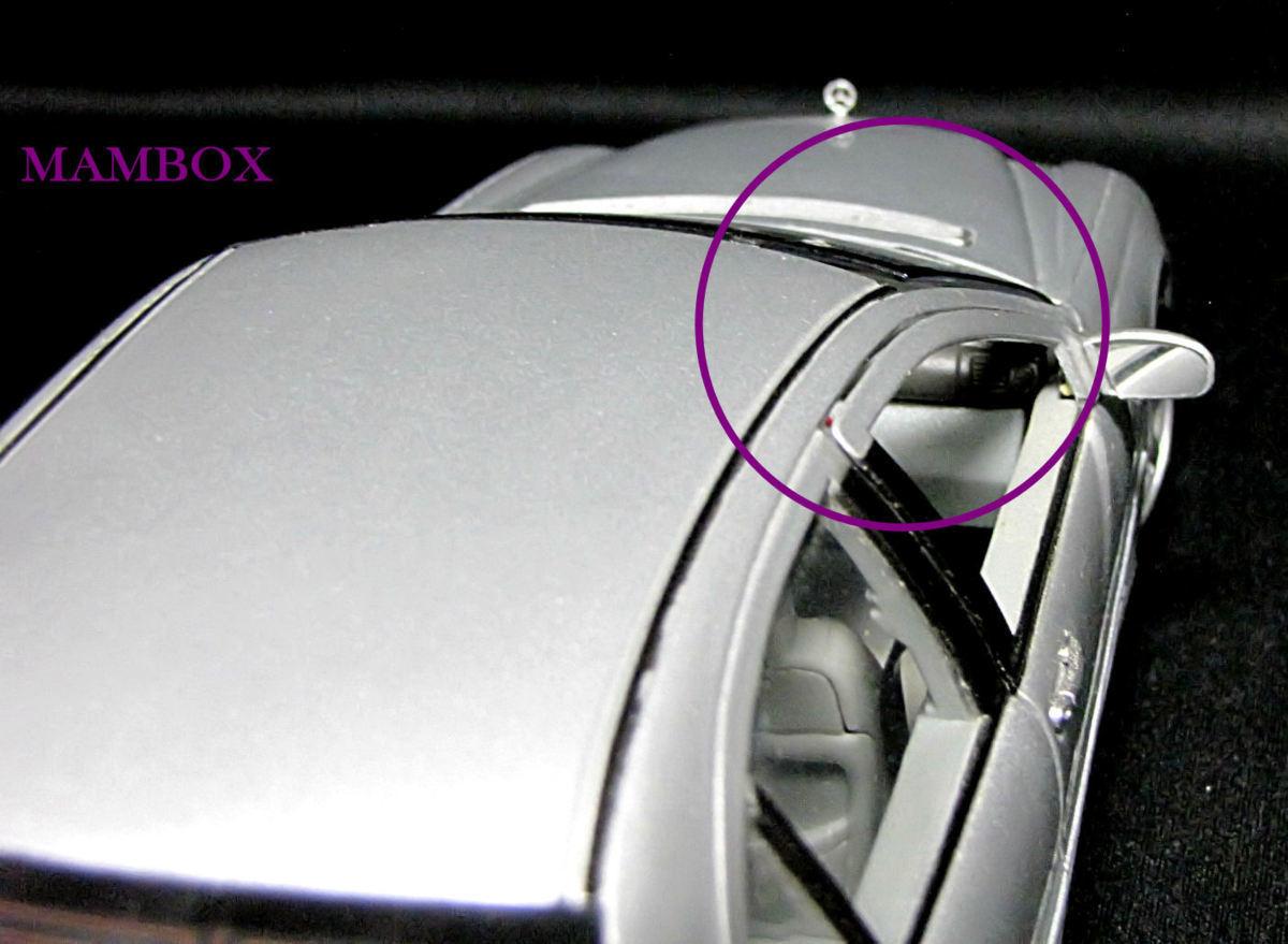 【フリマ】WE☆1/18 9853 メルセデスベンツ Mercedes-Benz C-Class 外箱・ケース無し_画像3
