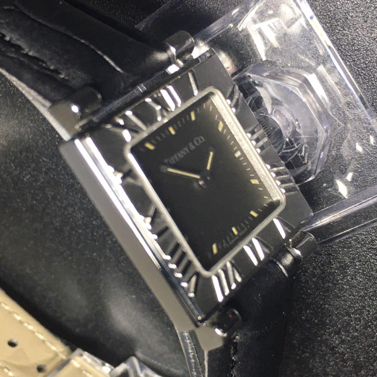 【美品 正規品】ティファニー 腕時計 アトラス スクエア レディース 可動品 時計 TIFFANY クオーツ 【2006Ti10】_画像6