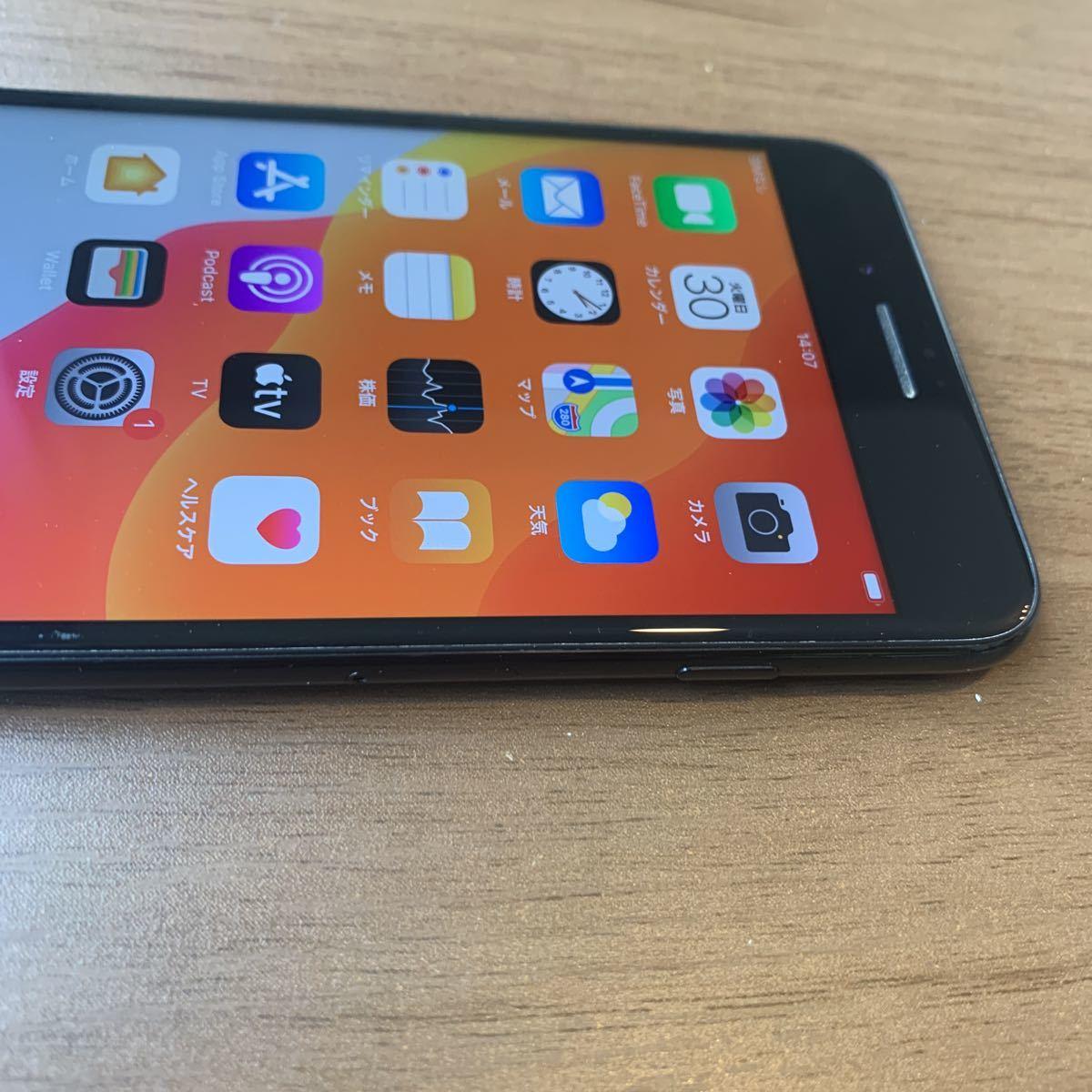 iPhone7plus 128G JET BLACK SIMフリー 中古品 5171_画像7