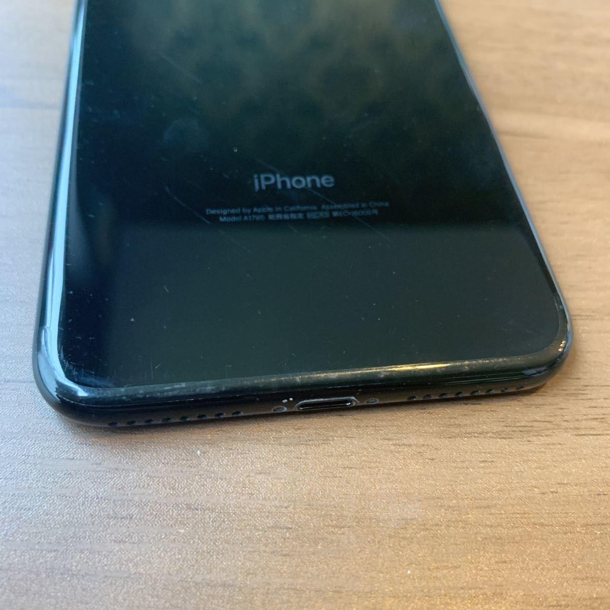 iPhone7plus 128G JET BLACK SIMフリー 中古品 5171_画像10