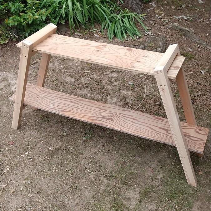木製アイアンラック   #KMPRODUCTS