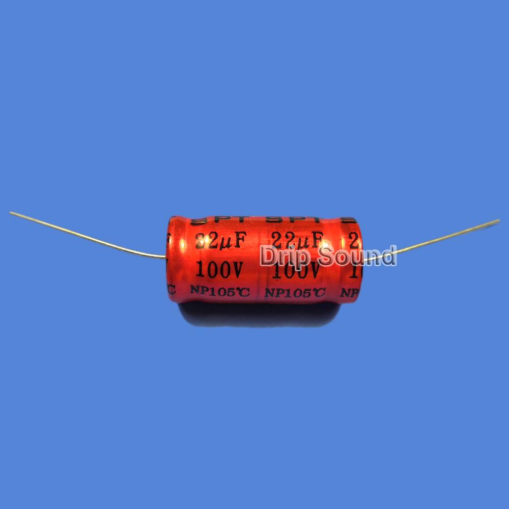 BB1087:2ピース 1.5uF-15uF 100V車ツイーターオーディオスピーカー 周波数分割器 クロスオーバー非極性電解コンデンサ_画像5