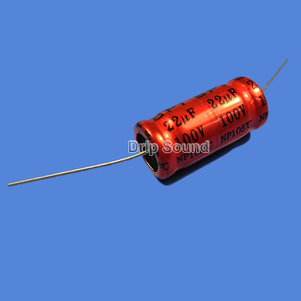 BB1087:2ピース 1.5uF-15uF 100V車ツイーターオーディオスピーカー 周波数分割器 クロスオーバー非極性電解コンデンサ_画像6