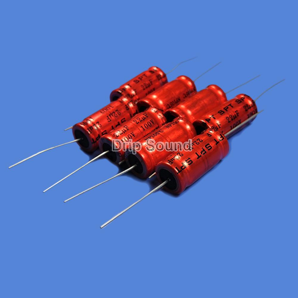 BB1087:2ピース 1.5uF-15uF 100V車ツイーターオーディオスピーカー 周波数分割器 クロスオーバー非極性電解コンデンサ_画像4