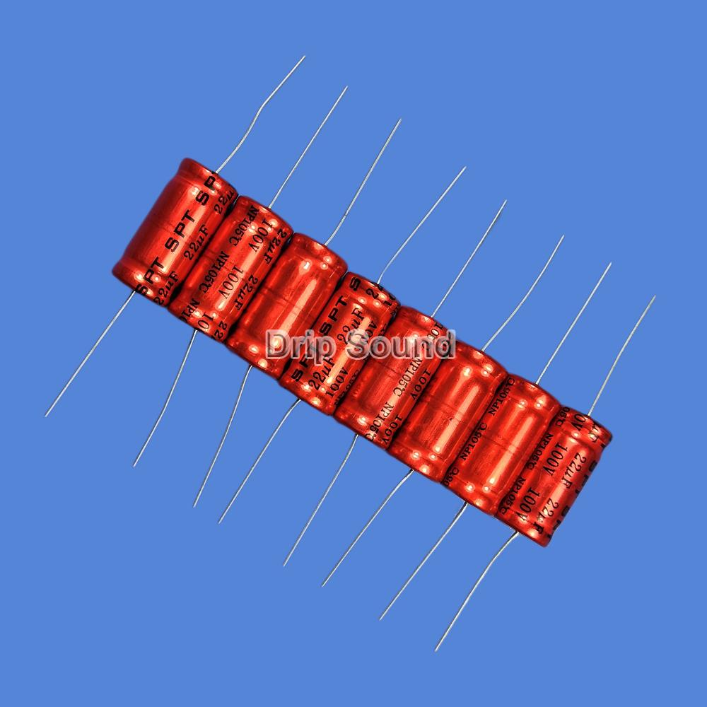 BB1087:2ピース 1.5uF-15uF 100V車ツイーターオーディオスピーカー 周波数分割器 クロスオーバー非極性電解コンデンサ_画像2