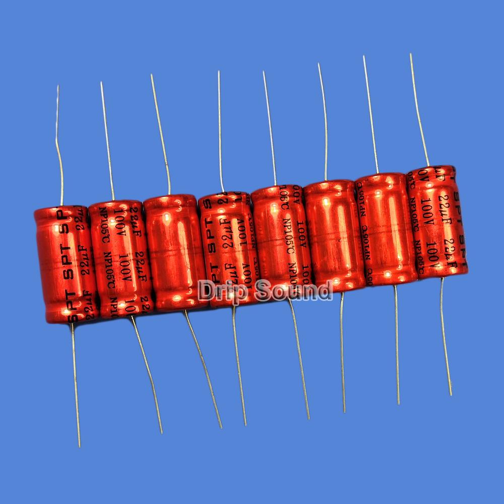 BB1087:2ピース 1.5uF-15uF 100V車ツイーターオーディオスピーカー 周波数分割器 クロスオーバー非極性電解コンデンサ_画像3
