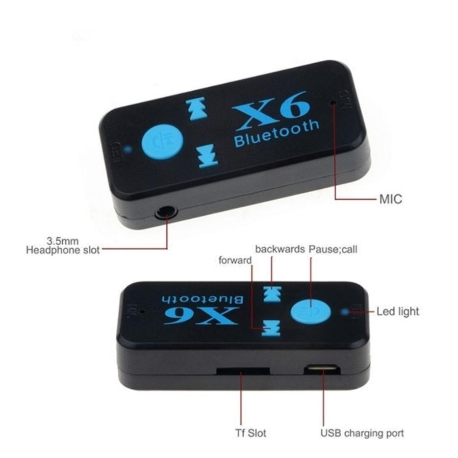 S2842 ワイヤレス Bluetooth 4.2 3.5mm AUXオーディオ ステレオミュージック カー レシーバー アダプター 車 ブルートゥース_画像6