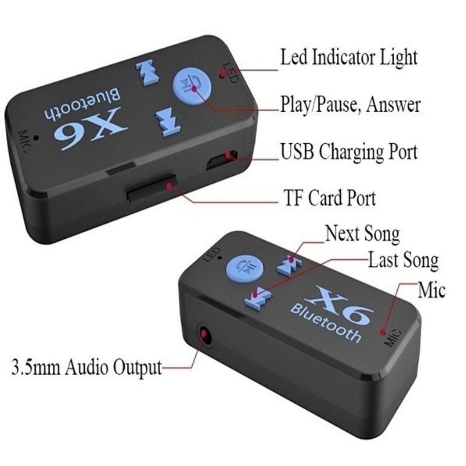 S2842 ワイヤレス Bluetooth 4.2 3.5mm AUXオーディオ ステレオミュージック カー レシーバー アダプター 車 ブルートゥース_画像3