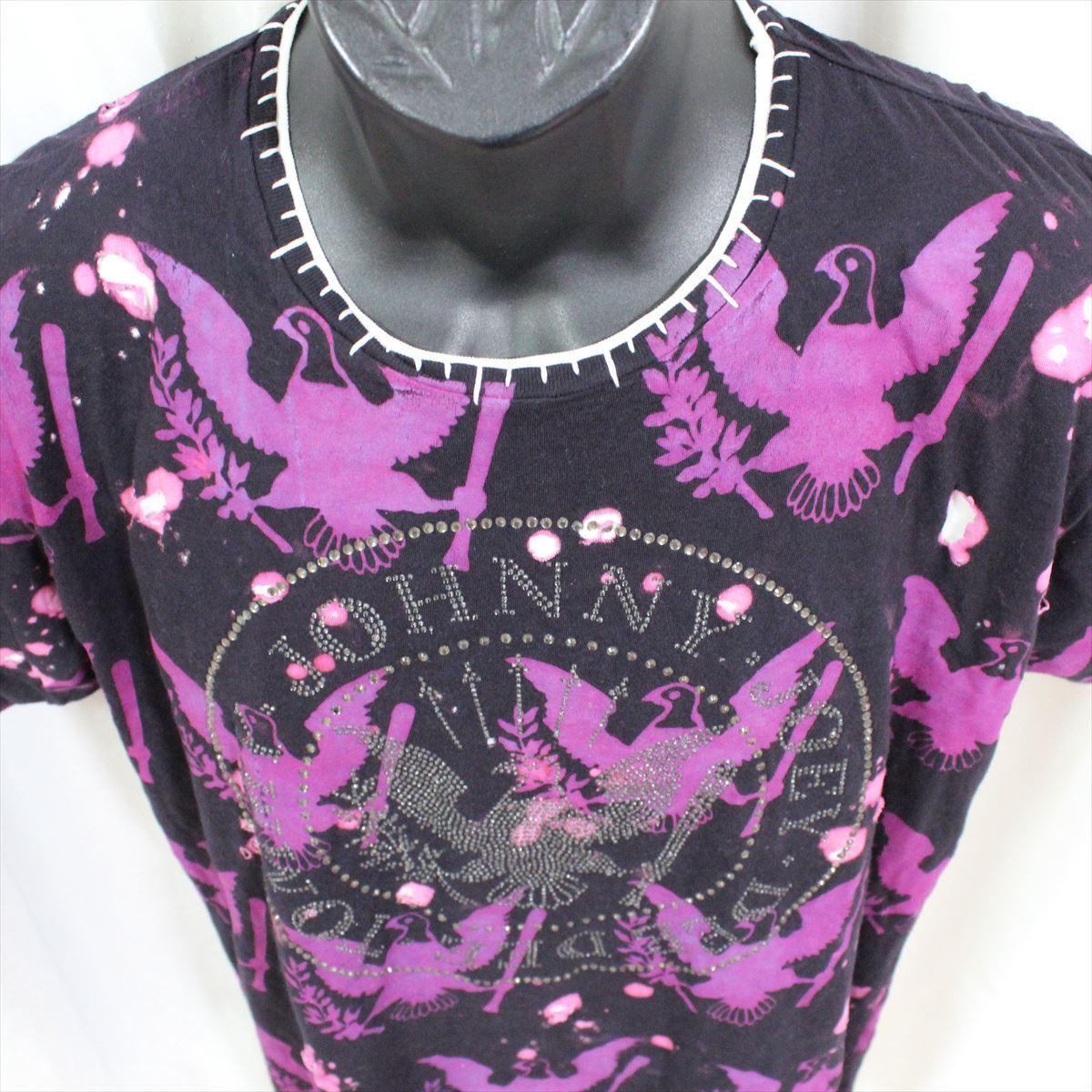 サディスティックアクション SADISTIC ACTION アイコニック メンズ半袖Tシャツ Mサイズ ICONIC COUTURE 新品 ラモーンズ Ramones_画像3