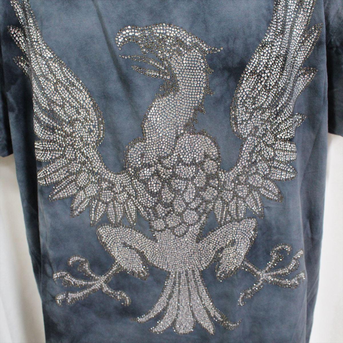 アイコニック Iconic Couture メンズ半袖Tシャツ ネイビー Lサイズ 新品 紺_画像2