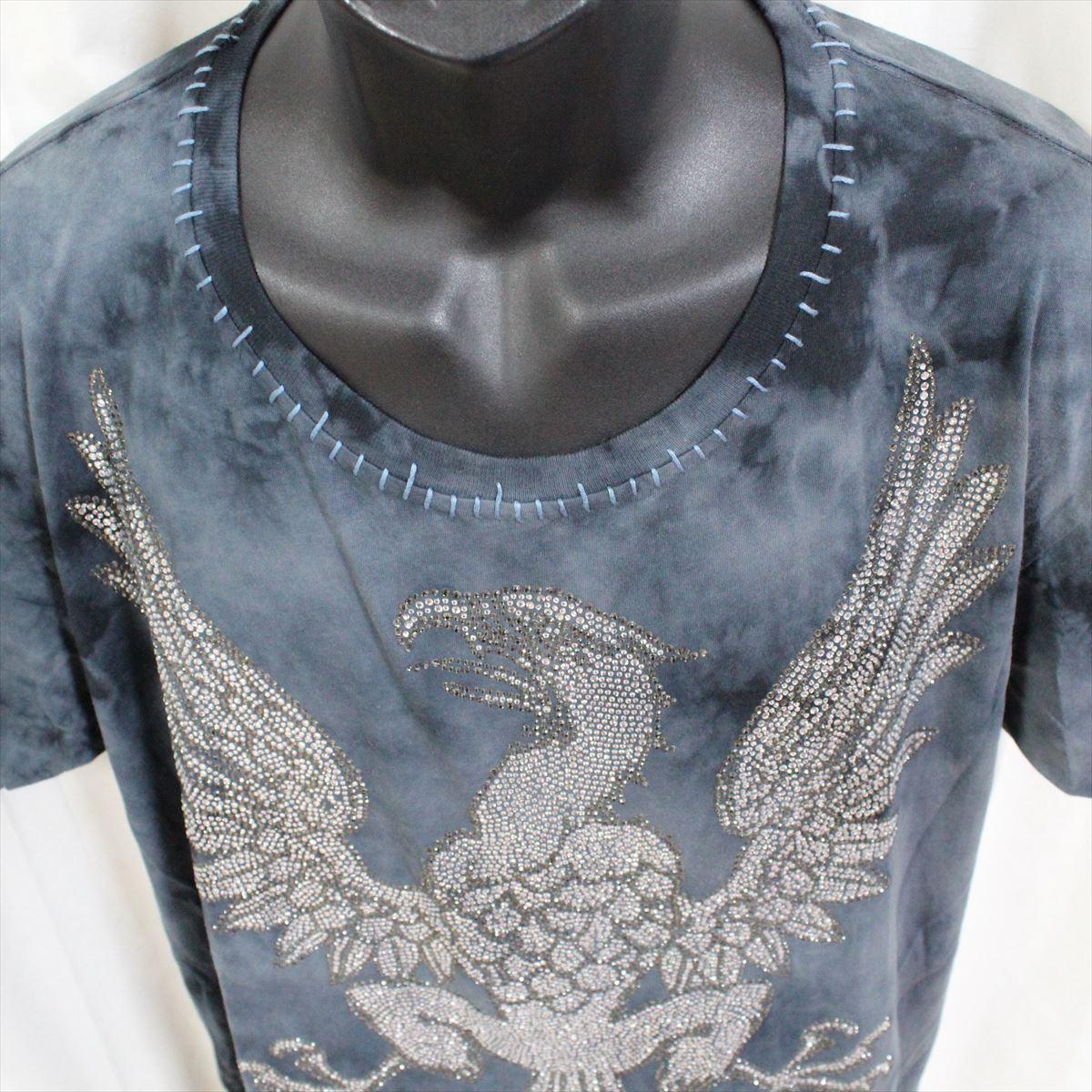 アイコニック Iconic Couture メンズ半袖Tシャツ ネイビー Lサイズ 新品 紺_画像3