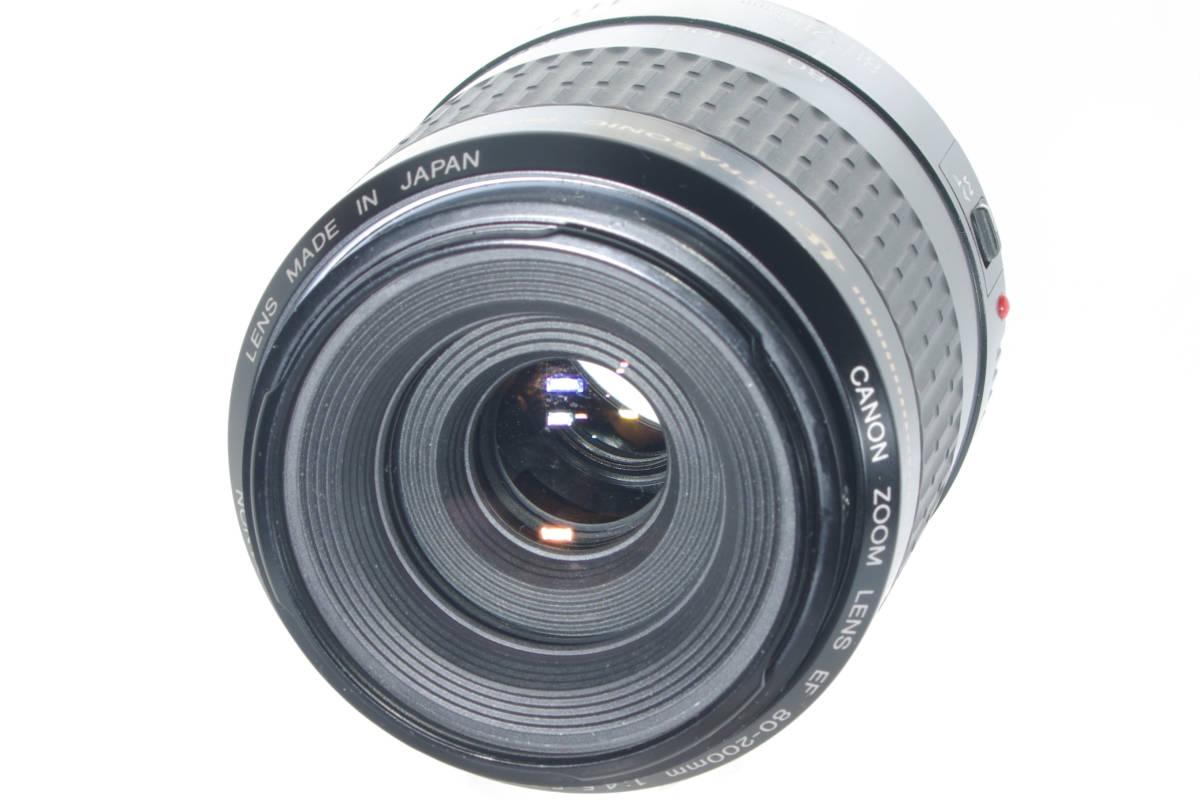 USM 望遠ズーム CANON EF 80-200mm F4.5-5.6 超音波モーター フルサイズ対応 純正レンズキャップ(前後) 実写確認済h_画像2