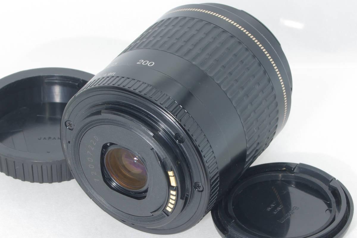 USM 望遠ズーム CANON EF 80-200mm F4.5-5.6 超音波モーター フルサイズ対応 純正レンズキャップ(前後) 実写確認済h_画像7