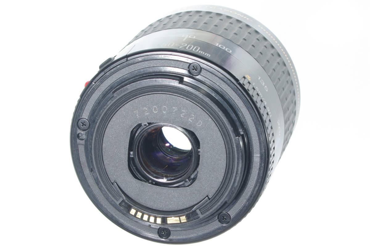 USM 望遠ズーム CANON EF 80-200mm F4.5-5.6 超音波モーター フルサイズ対応 純正レンズキャップ(前後) 実写確認済h_画像9