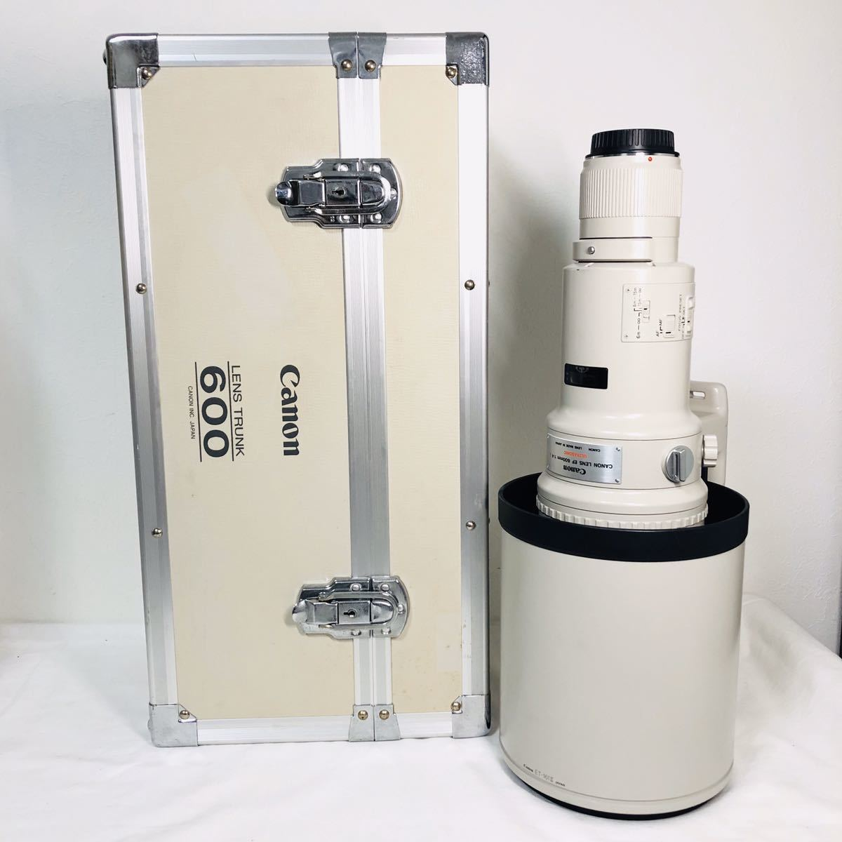 Canon Lens EF 600mm F4L USM キャノン ultrasonic monitor レンズ 望遠 i2359