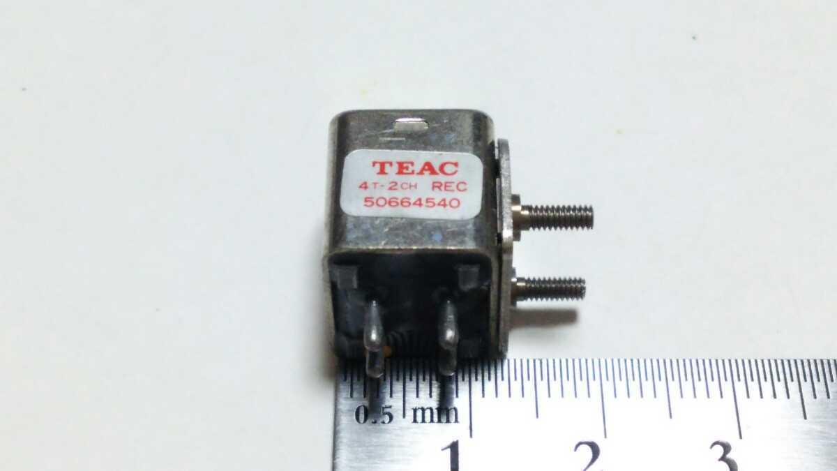 【倉庫整理】TEAC ティアック 4TR 2CH RECORD/録音ヘッド 50664540 A-2300S/SX A-3300S/S