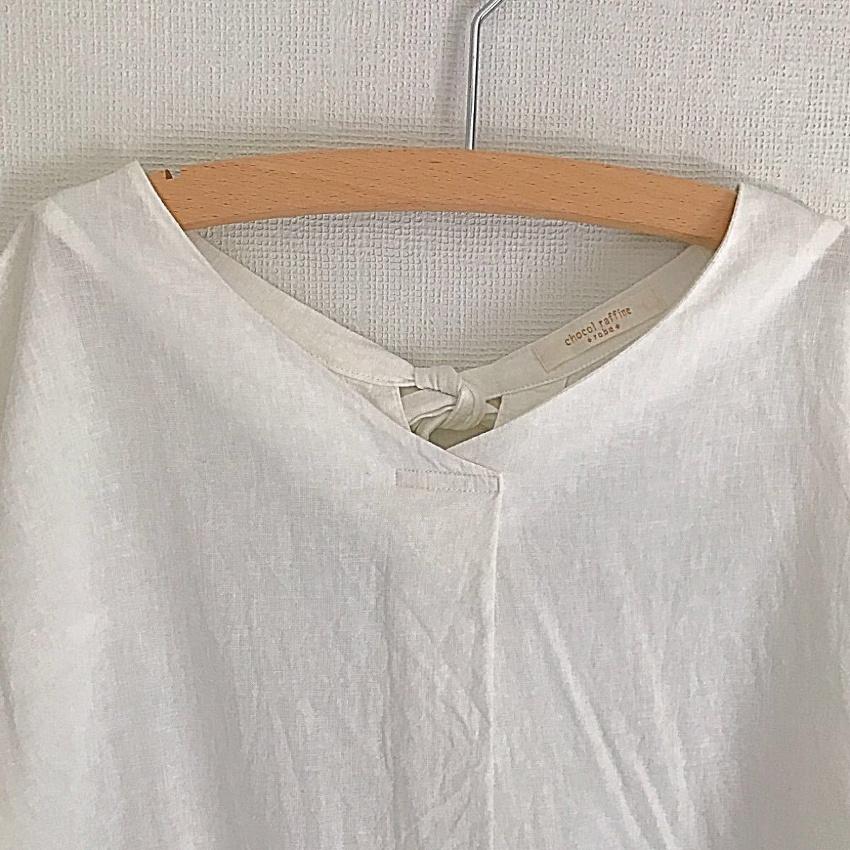 ショコラフィネローブ ブラウス Tシャツ フリーサイズ 値下げ