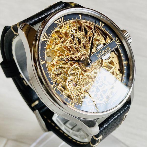 豪華!ルクルト/1920's/スケルトン/腕時計/手巻き/メンズ/アンティーク/ビンテージ/LE COULTRE/スイス/高級ブランド/美品/希少_画像2
