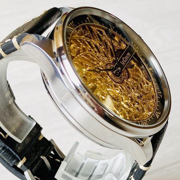 豪華!ルクルト/1920's/スケルトン/腕時計/手巻き/メンズ/アンティーク/ビンテージ/LE COULTRE/スイス/高級ブランド/美品/希少_画像4