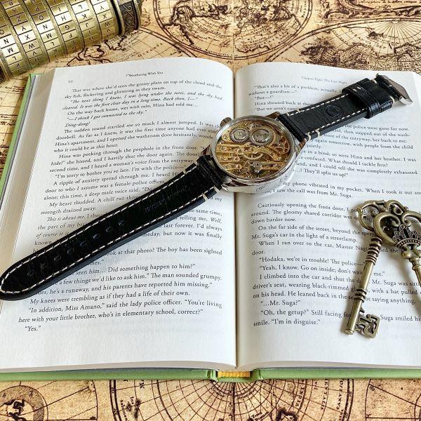 豪華!ルクルト/1920's/スケルトン/腕時計/手巻き/メンズ/アンティーク/ビンテージ/LE COULTRE/スイス/高級ブランド/美品/希少_画像7