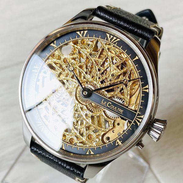 豪華!ルクルト/1920's/スケルトン/腕時計/手巻き/メンズ/アンティーク/ビンテージ/LE COULTRE/スイス/高級ブランド/美品/希少_画像1