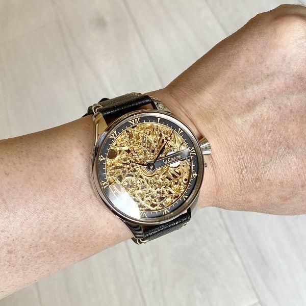 豪華!ルクルト/1920's/スケルトン/腕時計/手巻き/メンズ/アンティーク/ビンテージ/LE COULTRE/スイス/高級ブランド/美品/希少_画像10