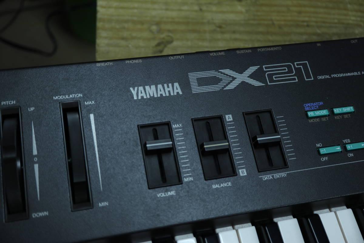 YAMAHA DX21 整備済品_画像4