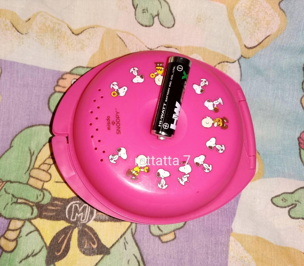 ☆Mister Donut☆SNOOPY☆PEANUTS☆Woodstock☆ミスタードーナツ☆スヌーピー☆ウッドストック☆チャーリー☆ポッケリング☆ドーナツケース_画像5