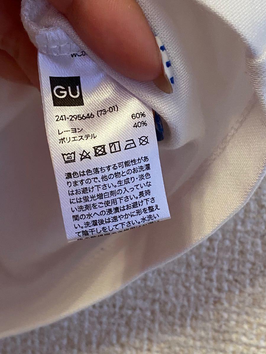 GU Tシャツ トップス カットソー