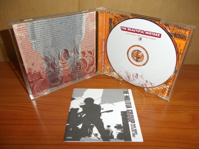 The Beautiful Mistake / Light A Match, For I Deserve To Burn (輸入盤CD) The Militia Group Ed Rose
