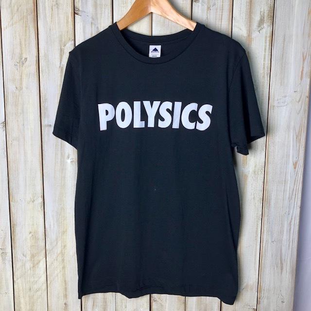 バンドT・ロックT POLYSICS ポリシックス 名盤 Tシャツ S 黒 ニューウェーブ テクノポップ ●34