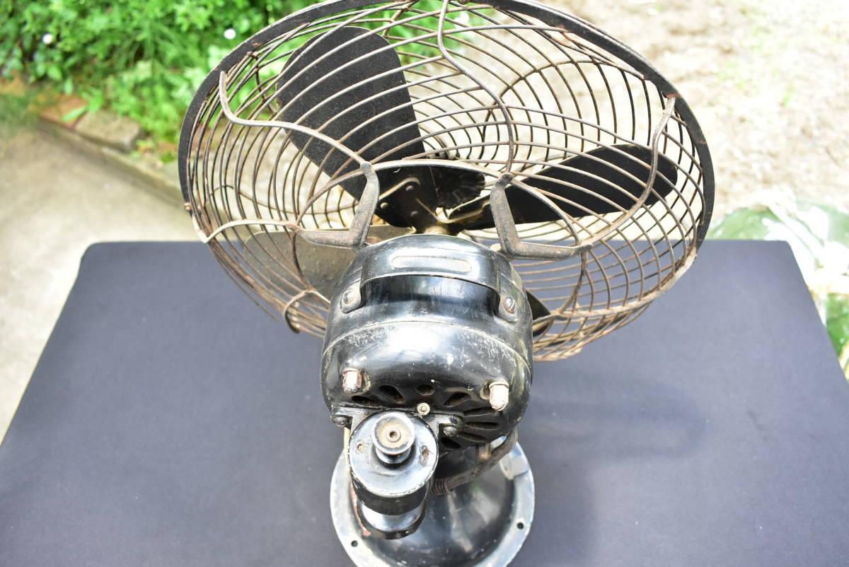 東芝 TOSHIBA 金属4枚プロペラ 風速4段切換 扇風機 芝浦製作所 C-7032 動作品 昭和レトロ ヴィンテージ_画像6
