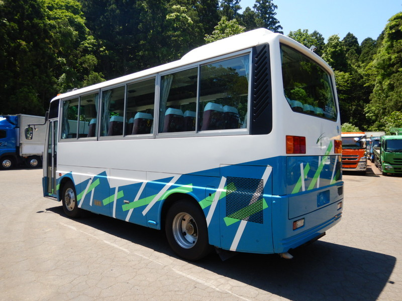 「【CH15559】H8年 三菱 エアロミディ ショート7m 実走13万㌔台 記録簿多数有り 29人乗り 自動ドア 乗合バス 観光バス 中型バス」の画像3