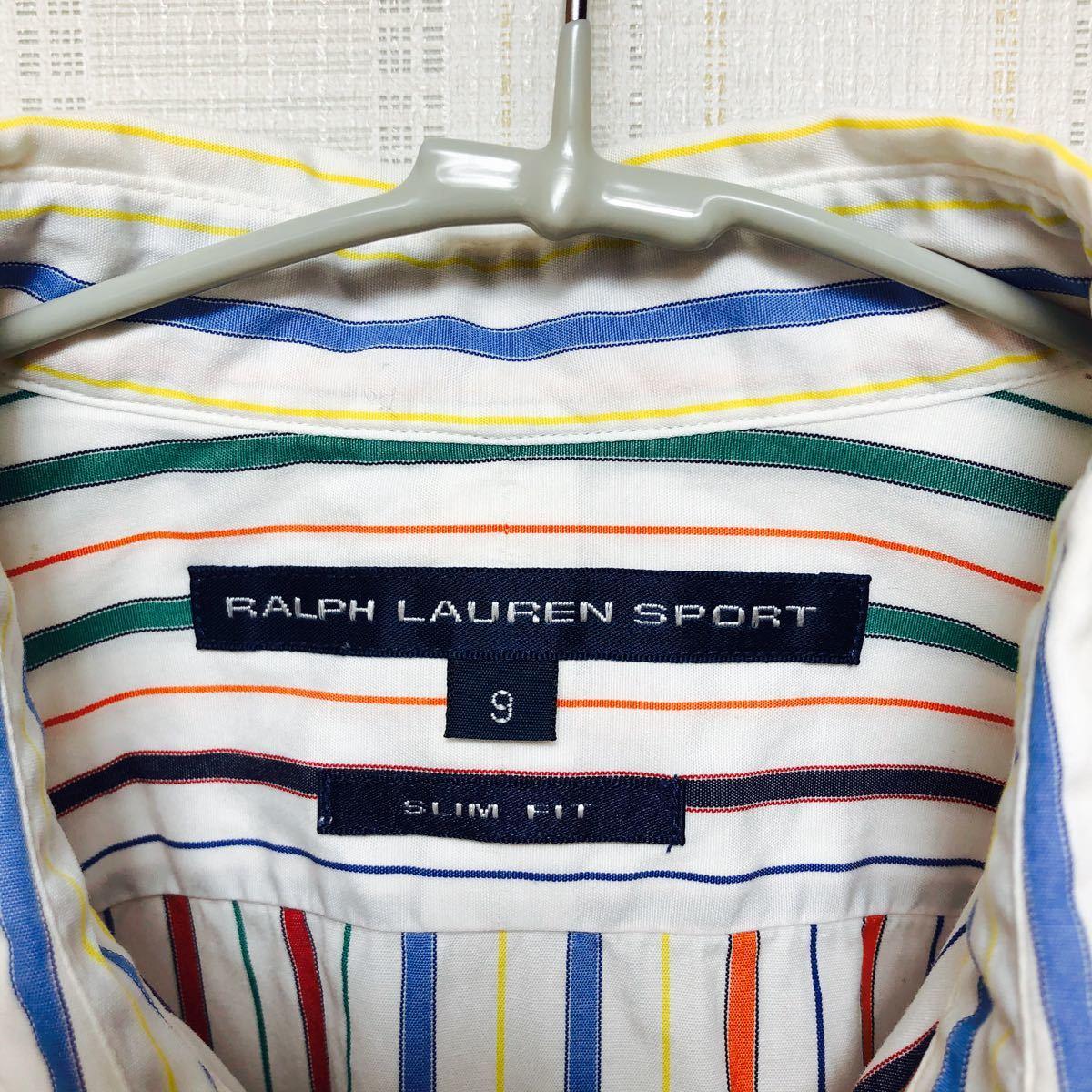 ラルフローレン 長袖シャツ ストライプシャツ