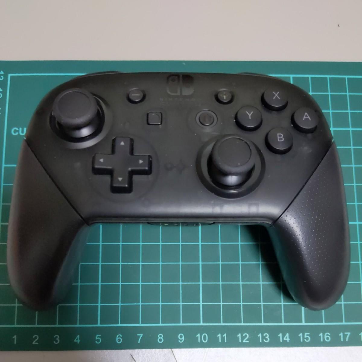NintendoSwitch プロコン メンテナンス動作確認済み