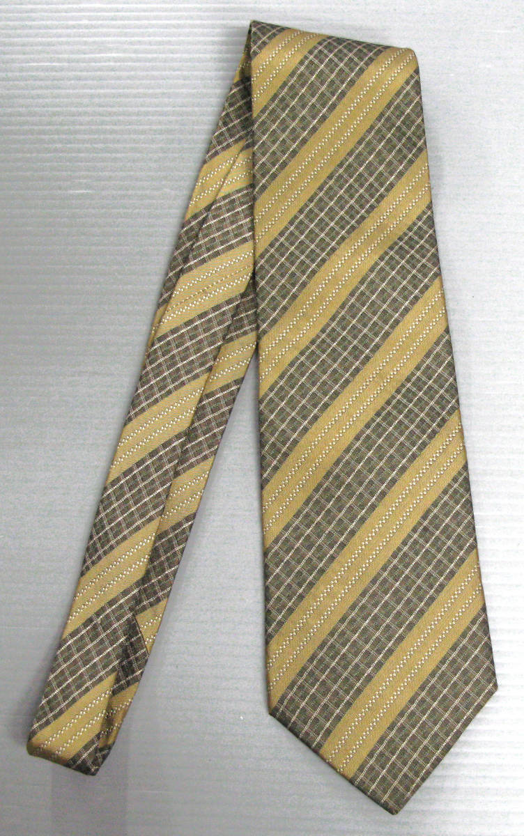 ユキヒロタカハシ yukihiro takahashi : ネクタイ レジメン ( 高橋幸宏 YTC YMO BRICKS MONO YMO YUKIHIRO TAKAHASHI Designed Tie_画像1