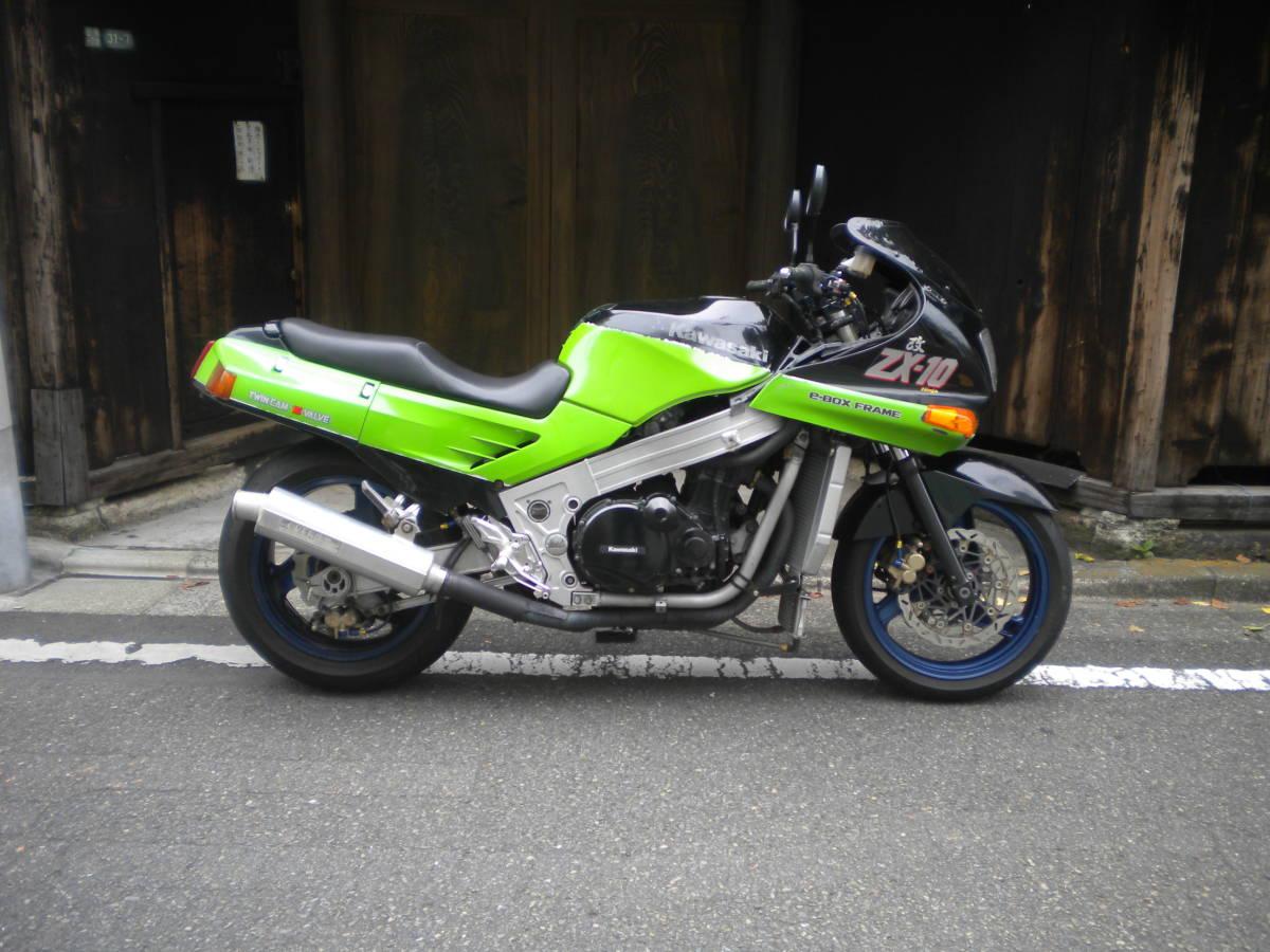 「!!KAWASAKI ZX-10 カスタム車1052ccに!車検令和2年11月まで!!」の画像1