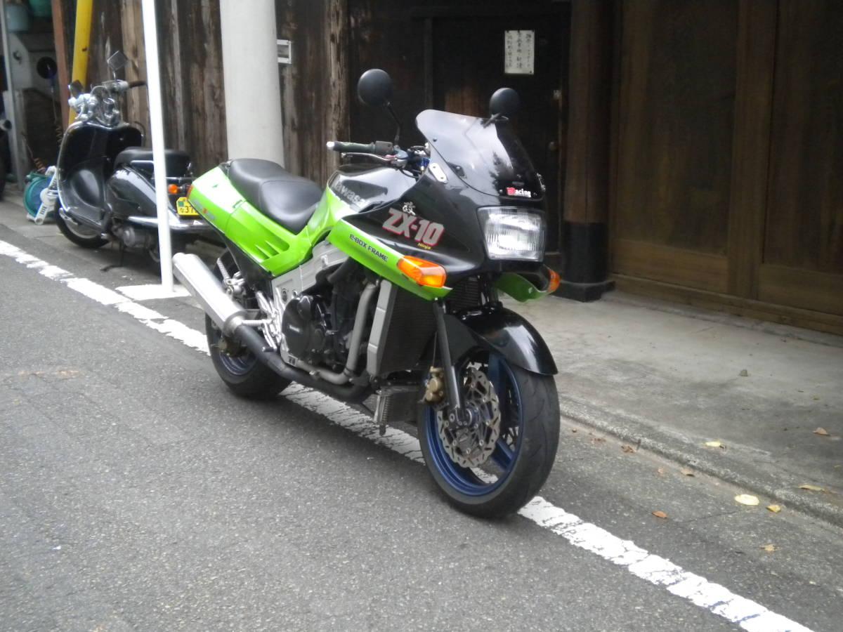 「!!KAWASAKI ZX-10 カスタム車1052ccに!車検令和2年11月まで!!」の画像2