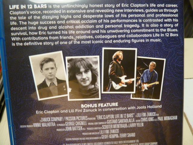 ブルーレイ★エリック・クラプトン「GENIUS AMPLIFIED」LIVE IN 12 BARS_画像2
