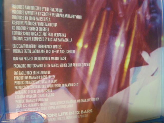 ブルーレイ★エリック・クラプトン「GENIUS AMPLIFIED」LIVE IN 12 BARS_画像5