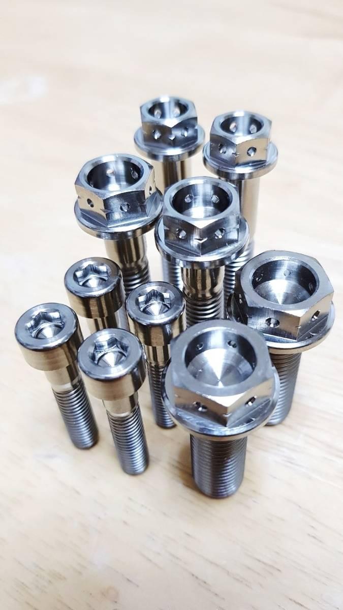 55 ◆ テスト出品、ホンダNSR250チタン合金ボルトステアリング周辺セット~!!! MC21/ MC28~!