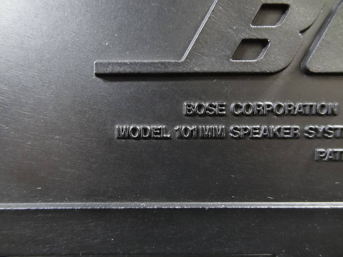 K4643★BOSE(ボーズ) スピーカー ペア MODEL:101MM 6Ω 連番★_画像3
