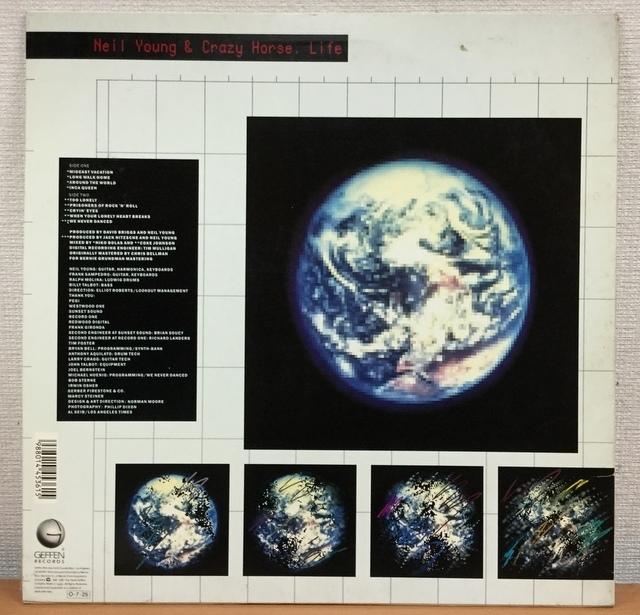 【E564】ニール・ヤング&クレイジー・ホース/ライフ/P-13532/JP/ワーナー/Neil Young/Life/LP_画像2