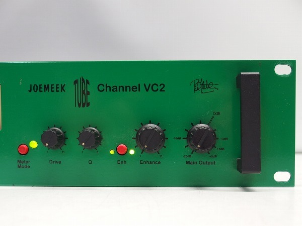 JOEMEEK VC2 真空管マイクプリ コンプレッサー エンハンサー *292162_画像4