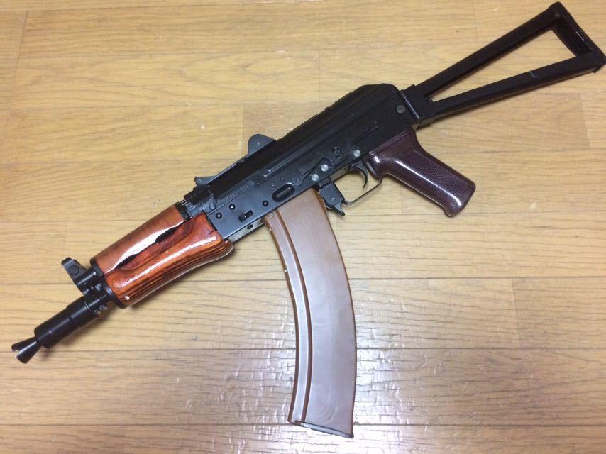 絶版 VFC AKS74UN 電動ガン クリンコフ スチール フレーム LCT GHK AKM AK74 AKS74N AKS74U E&L AKMS 東京マルイ 47 フルメタル レア 希少