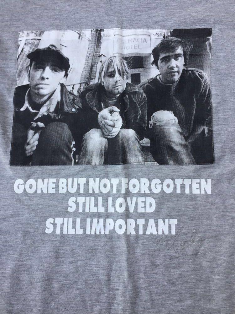 nirvana ニルバーナ ニルヴァーナ kurt cobain カートコバーン Tシャツ rock band ロック バンド 古着 sonic youth_画像1