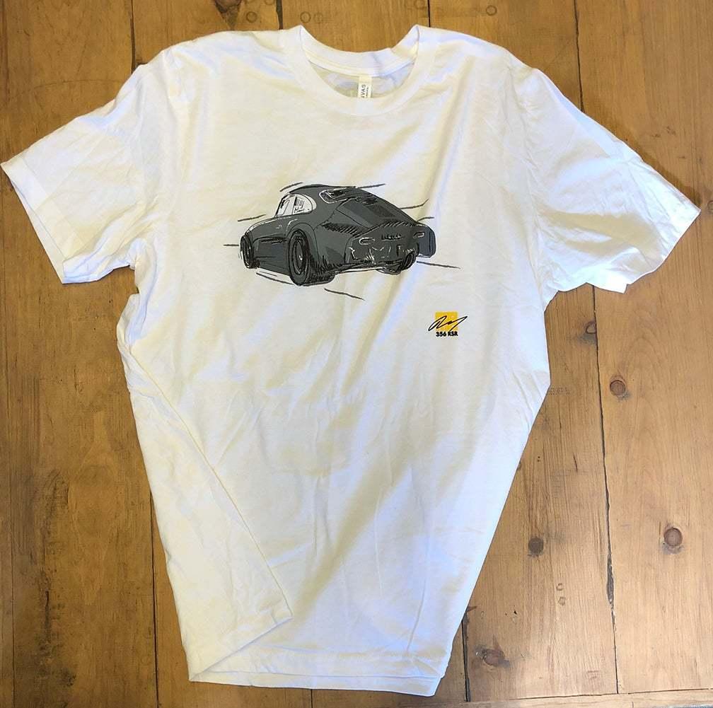 MOMO 白 Mサイズ エモリー モータースポーツ Emory Motorsports Tシャツ 356 OUTLAWS カリフォルニア USDM ポルシェ 空冷 VW_画像4