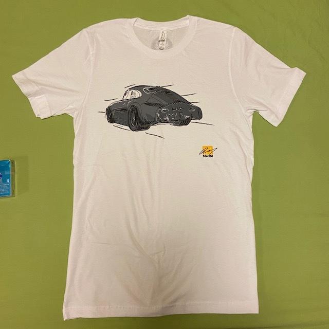 MOMO 白 Mサイズ エモリー モータースポーツ Emory Motorsports Tシャツ 356 OUTLAWS カリフォルニア USDM ポルシェ 空冷 VW_画像1